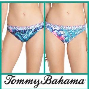 NWT! Tommy Bahama Majorelle Reversible Swim Bottom